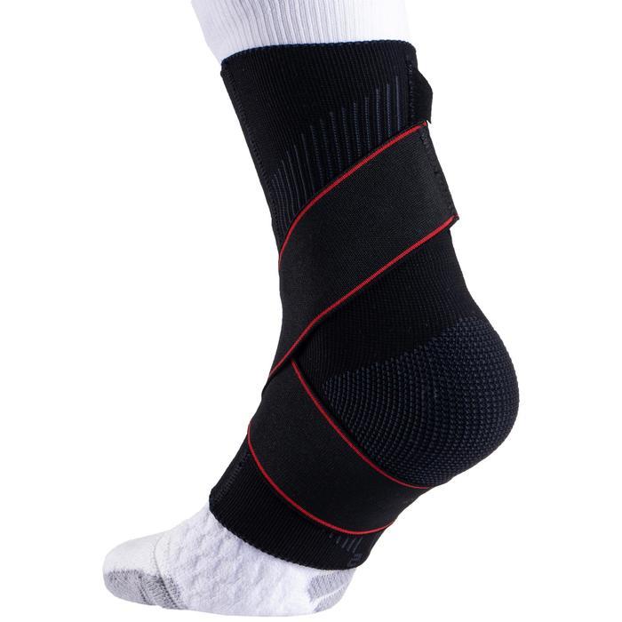 Knöchelorthese Strong 100 Stützung Bänder links/rechts Erwachsene schwarz