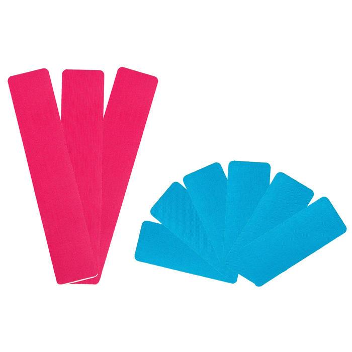 Set voorgesneden kinesiotapes voor tendinitis (3 gebruikswijzen)