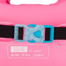 Schwimmflügel und Schwimmgürtel Kombination Tiswim Flamingo 15–30kg Kinder rosa