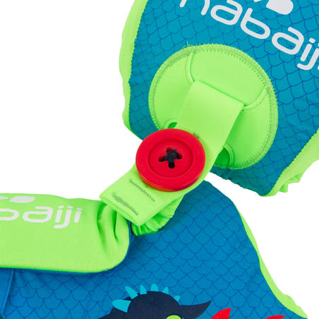 "Child's TISWIM progressive swimming armbands-waistband - Blue ""DRAGON"" print"