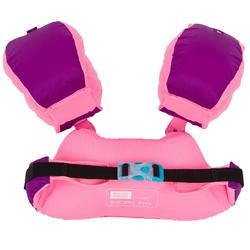 Meegroeiende zwemhulp TISWIM voor kinderen violet met EENHOORNPRINT'