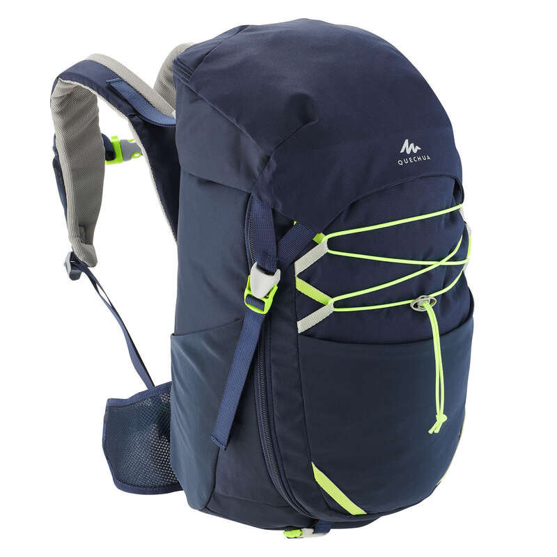 CHILD HIKING BACKPACKS Hiking - MH500 Kids 30L Backpack - Navy QUECHUA - Hiking Backpacks and Bags