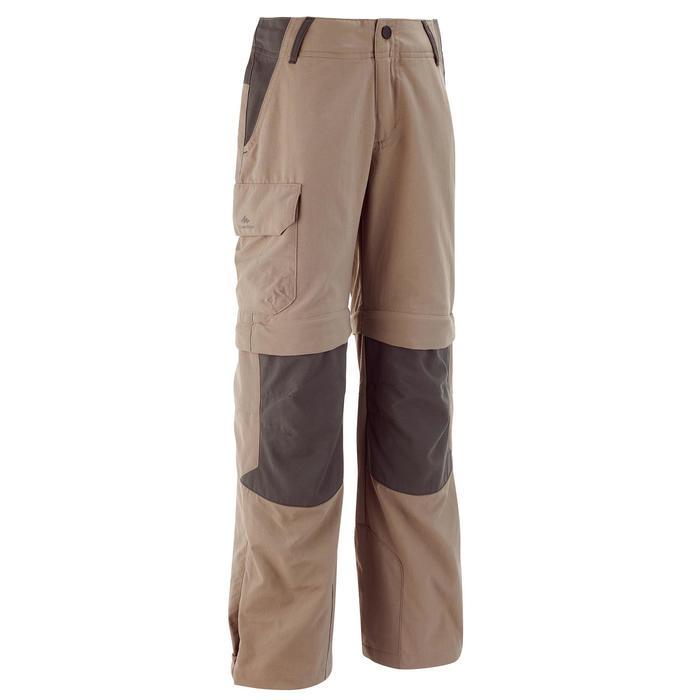 Pantalón transformable de senderismo júnior MH550
