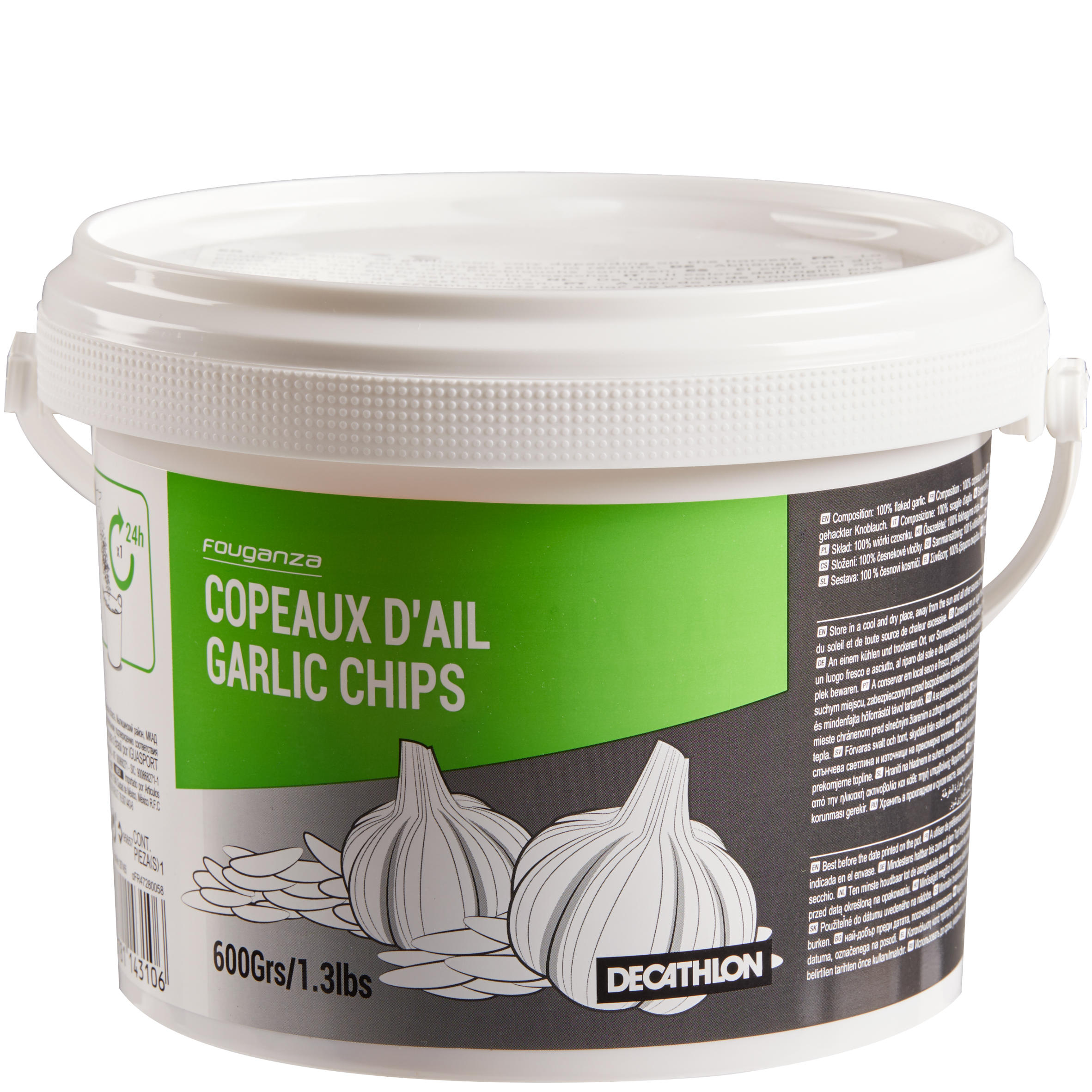 Garlic Flakes Supplement for Horses and Ponies - 600 g