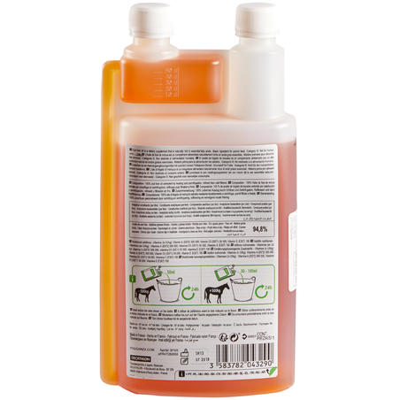 Horse and Pony Cod Liver Oil Feed Supplement 1L