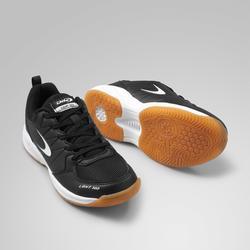 Chaussures de hockey en salle adulte intensité moyenne LGHT100 noir