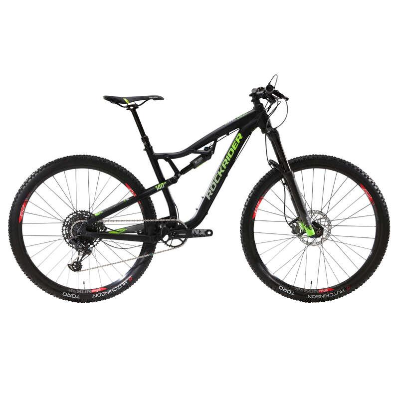ADULT ALL MOUNTAIN MTB BIKE Cycling - AM 100 S Full Suspension Mountain Bike, NX Eagle - 29