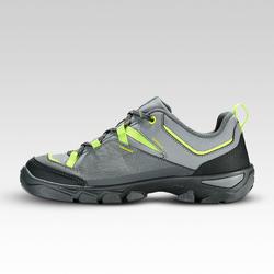 Zapatillas de montaña niños con cordones MH120 LOW verde talla 35 A 38