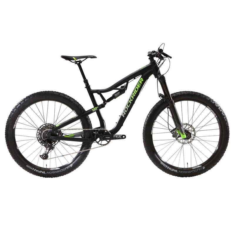 BICICLETĂ MTB ADULT Ciclism - Bicicletă MTB AM100S 27,5 Plus ROCKRIDER - Biciclete mountain bike