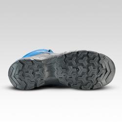 Waterdichte halfhoge wandelschoenen voor kinderen MH120 blauw 35 tot 38