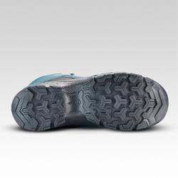 Waterdichte hoge wandelschoenen voor kinderen MH120 turquoise 35 tot 38