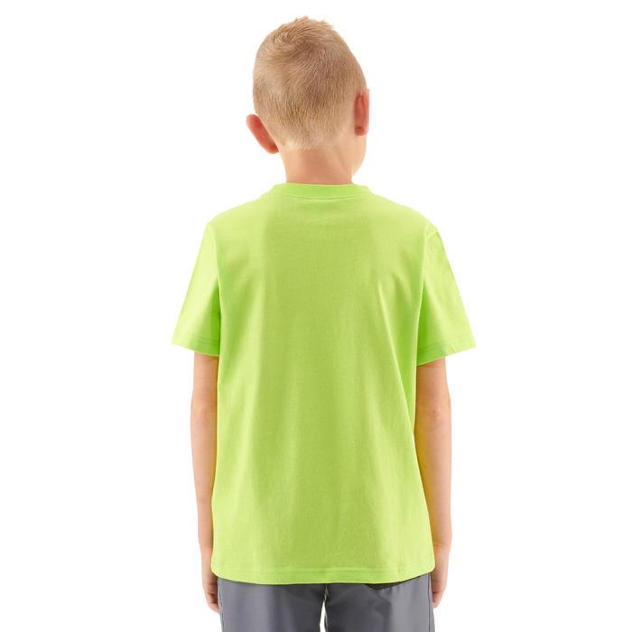 Wandelshirt voor kinderen MH100 anijsgroen