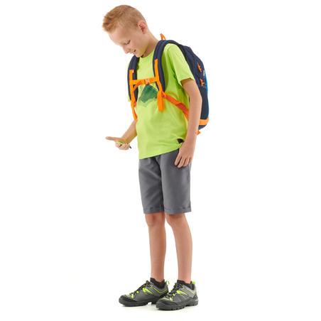 T-Shirt de randonnée - MH100 vert anis - enfant 7-15 ans