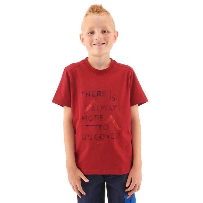 Wandershirt MH100 Kinder rot