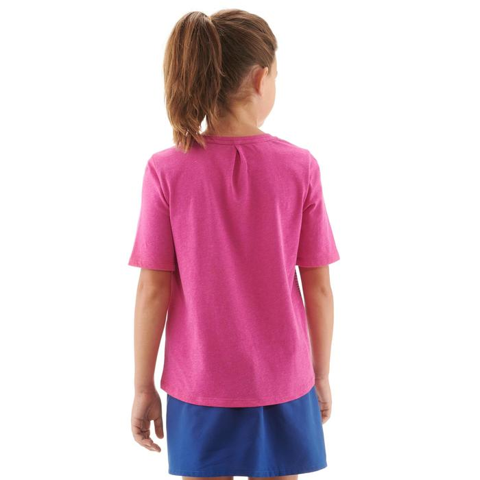 Wandelshirt voor kinderen MH100 roze 7 tot 15 jaar