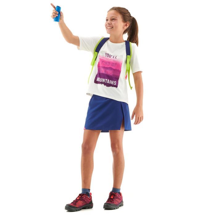 T-Shirt de randonnée - MH100 blanc - enfant