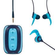 Moder glasbeni MP3-predvajalnik in slušalke SWIMMUSIC 100