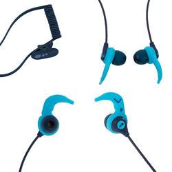 Kit auriculares MP3 de natación V2 Nabaiji azul