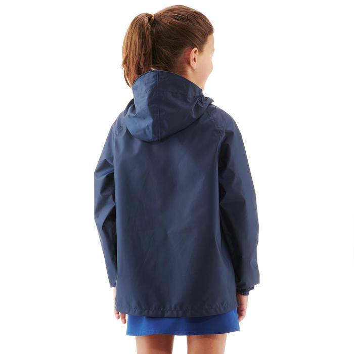 Waterdichte wandeljas voor kinderen MH100 marineblauw/roze