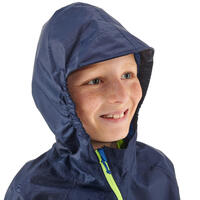 MH100 Waterproof Hiking Jacket - Kids