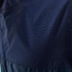 Chaqueta Impermeable Montaña y Trekking Niña 7 a 15 Años M Azul Turquesa