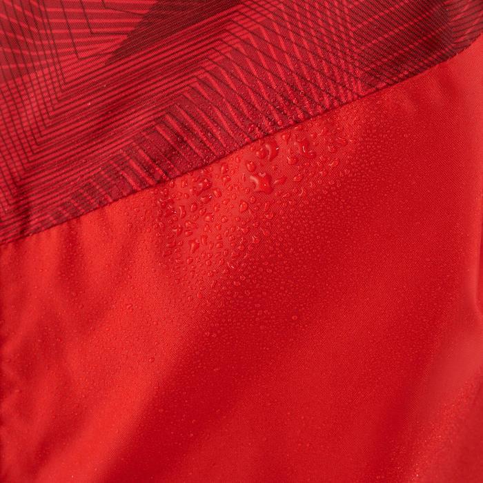 Veste imperméable de randonnée enfant MH150 rouge et bordeaux 7 AU 15 ANS