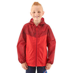 8a71a1f2efdef Kid s Raincoat MH150 (Age 7 to 15 Years) - Red Maroon