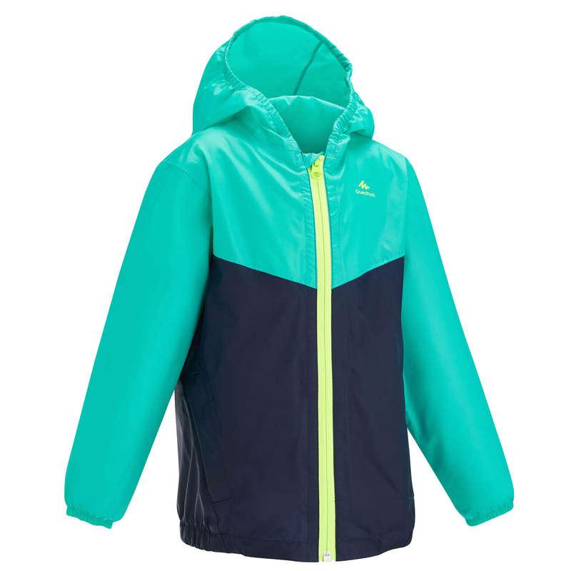 Fiú póló, kabát nadrág, rövidnadrág 2-6 év Túrázás - Gyerek esőkabát MH150  QUECHUA - Gyerek túraruházat