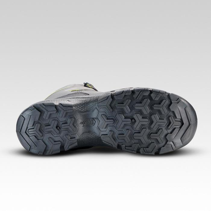 Botas de montaña niños talla 35-38 impermeables MH120 gris