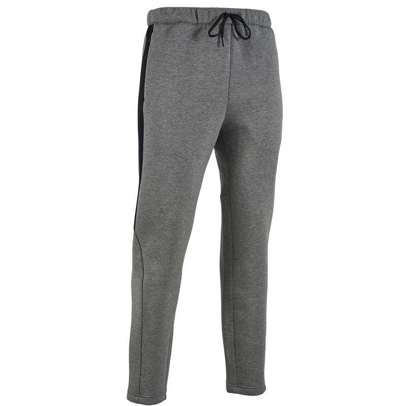 MAN GYM, PILATES COLD WEATHER APPAREL Activewear - 900 Gym Bottoms - Grey PUMA - Men
