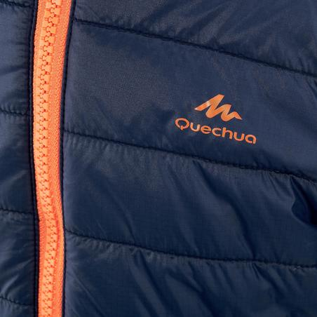 Kids' 2-6 Years Hiking Padded Jacket MH500 - Navy
