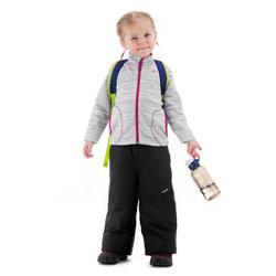 Fleece vest voor wandelen kinderen MH150 grijs 2-6 jaar
