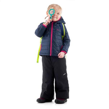 Kids' 2-6 Years Hiking Padded Jacket MH500 - Blue