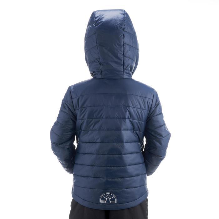 Gewatteerde kinderjas voor hiking MH500 marineblauw 2- 6 jaar