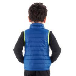 Gilet de randonnée enfant MH500 bleu 2- 6 ans