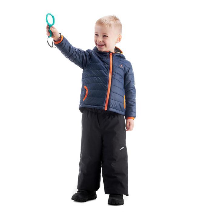 Gewatteerde wandeljas voor kinderen MH500 marineblauw 2- 6 jaar