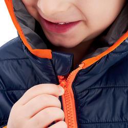 Veste rembourrée de randonnée enfant MH500 marine 2- 6 ans