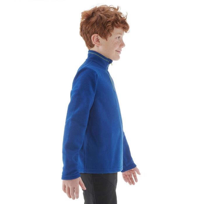 Polaire de randonnée enfant MH100 bleu 7-15 ans