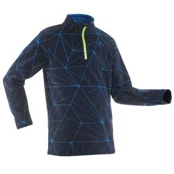Kids' 7-15 Years Hiking Fleece MH100 - Blue