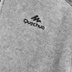 Fleece vest voor wandelen kinderen MH150 grijs 7-15 jaar
