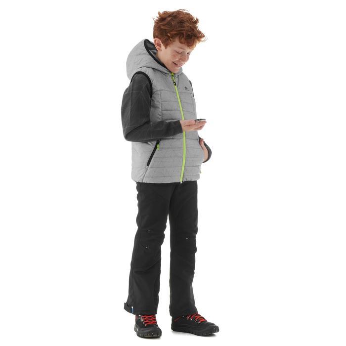 Gilet de randonnée enfant MH500 Gris 7- 15 ans