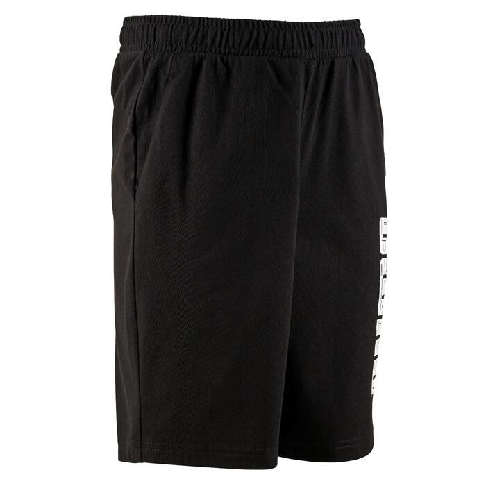 Short noir coupe regular coton PUMA