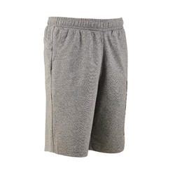 Short grijs regular fit katoen PUMA
