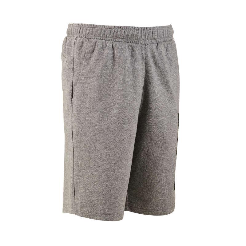 KLÄDER FÖR GYMPA, JUNIOR Pilates - Shorts bomull PUMA - Fitness, Gym, Dans 17