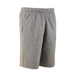 Short gris corte regular algodón PUMA