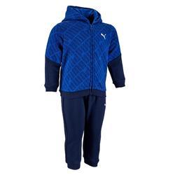 Trainingsanzug Babyturnen Junge blau