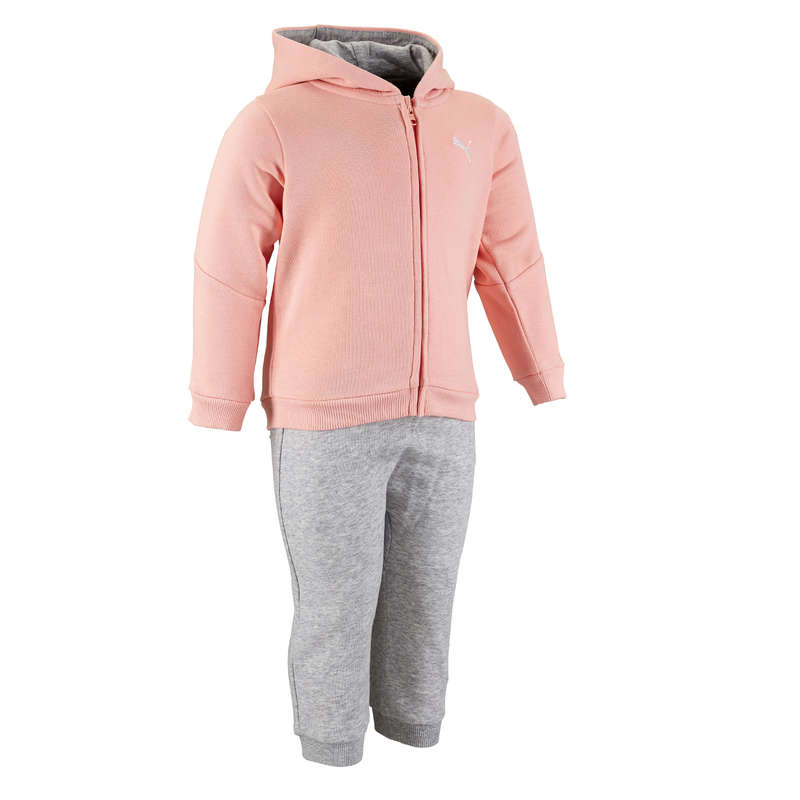 BABY GYM APPAREL Baby and Toddlers - Tracksuit - Pink/Grey PUMA - Kids