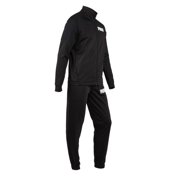 Trainingsanzug Fitness-/Cardiotraining Herren schwarz