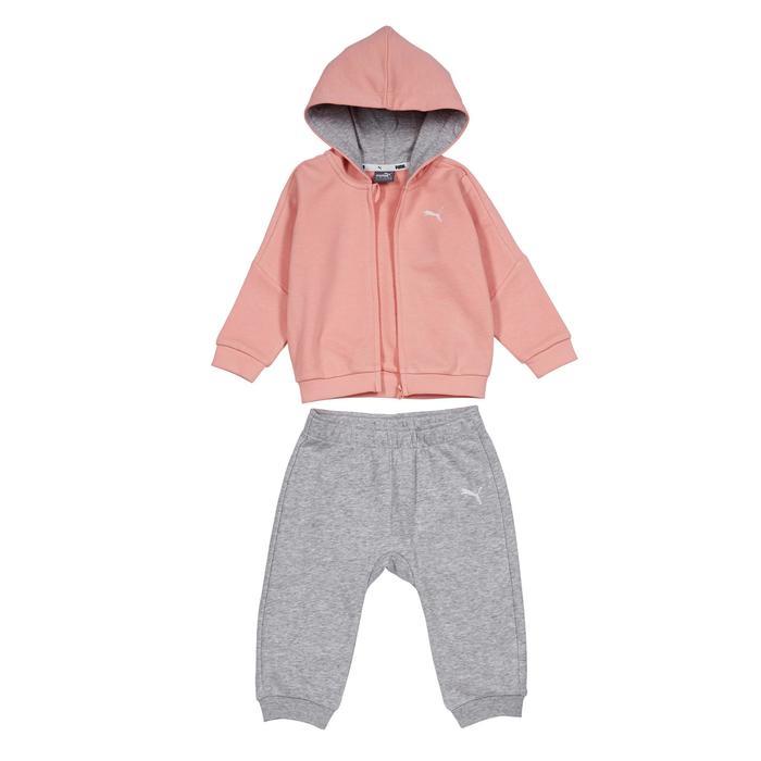 SURVÊTEMENT BABY GYM PUMA ROSE/GRIS