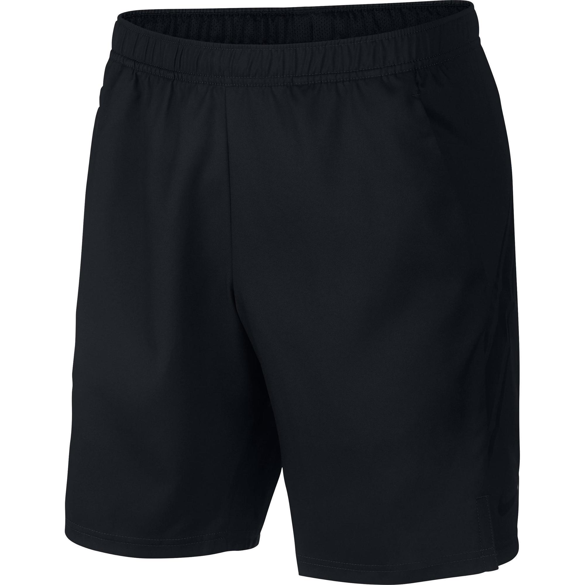 Nike Tennisshort voor heren Dry Fit zwart
